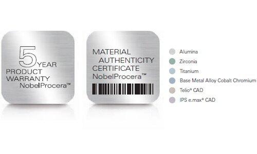 Certificato NobelProcera